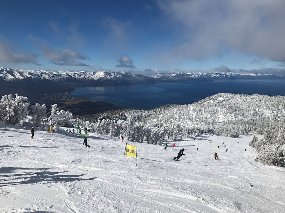 Miles of smiles above South Lake Tahoe. - © Heavenly