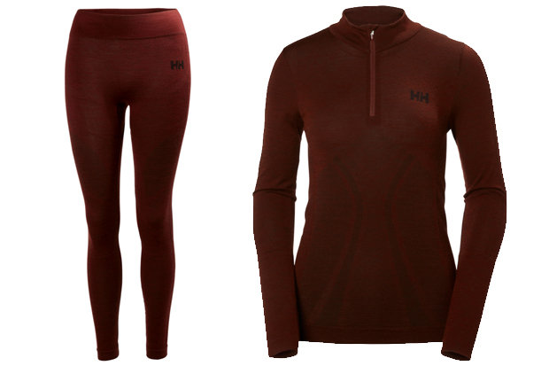 Helly Hansen Women's Lifa Merino Seamless 1/2 Zip & Pant: $90-$110 Layer like a pro with Helly Hansen's warmest base layer. A seamless construction and Lifa® Stay Warm Technology ensure warmth and comfort when you're on the slopes.