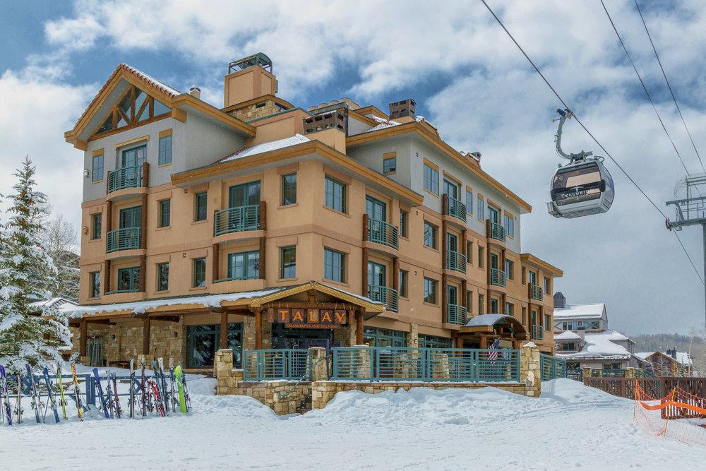 Ski-In/Ski-Out Access in Mountain Village - © Telluride Ski Resort