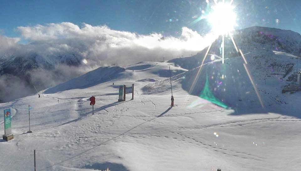 Les 2 Alpes 25/11/17 - © Les 2 Alpes/Facebook