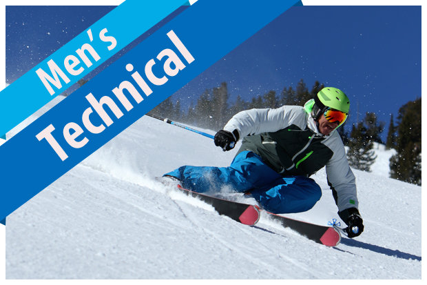 2017/2018 Men's Technical Ski Buyers' Guide. - © Dan Campbell, courtesy of Masterfit Media