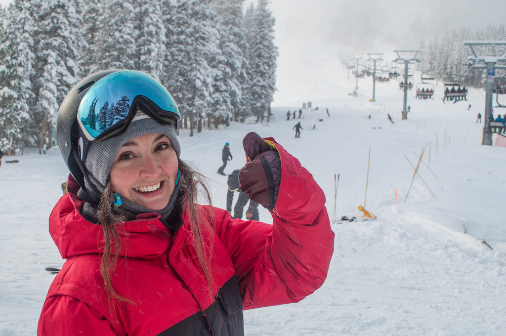 Opening day deserves a thumbs up at Mt. Norquay. - © Mt. Norquay