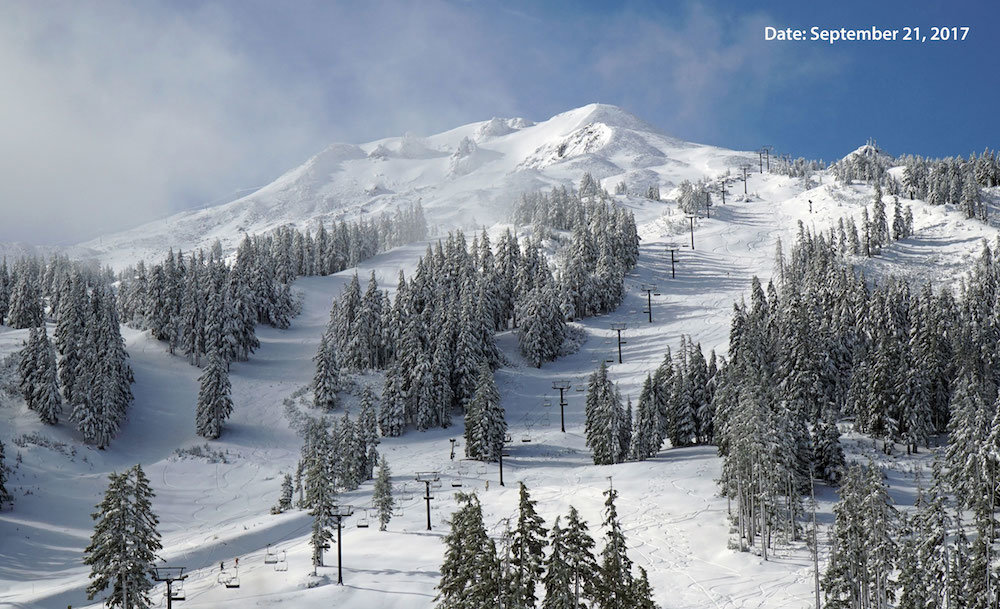 September at Mt. Bachelor . . . seriously? - © Mt. Bachelor