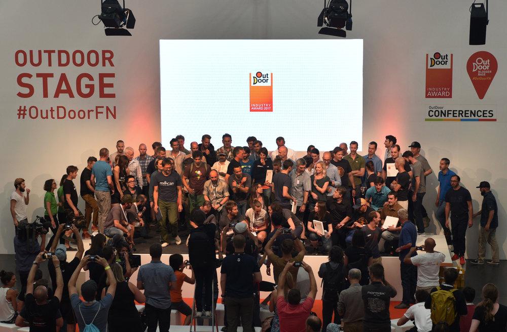 OutDoor Award Winnaars 2017 - © Messe Friedrichshafen
