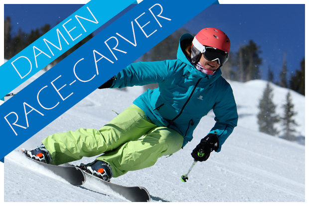 Damen race carving skitest