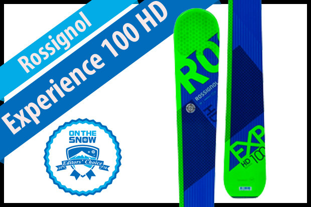 Rossignol Experience 100 HD, men's 17/18 All-Mountain Back Editors' Choice ski. - © Rossignol