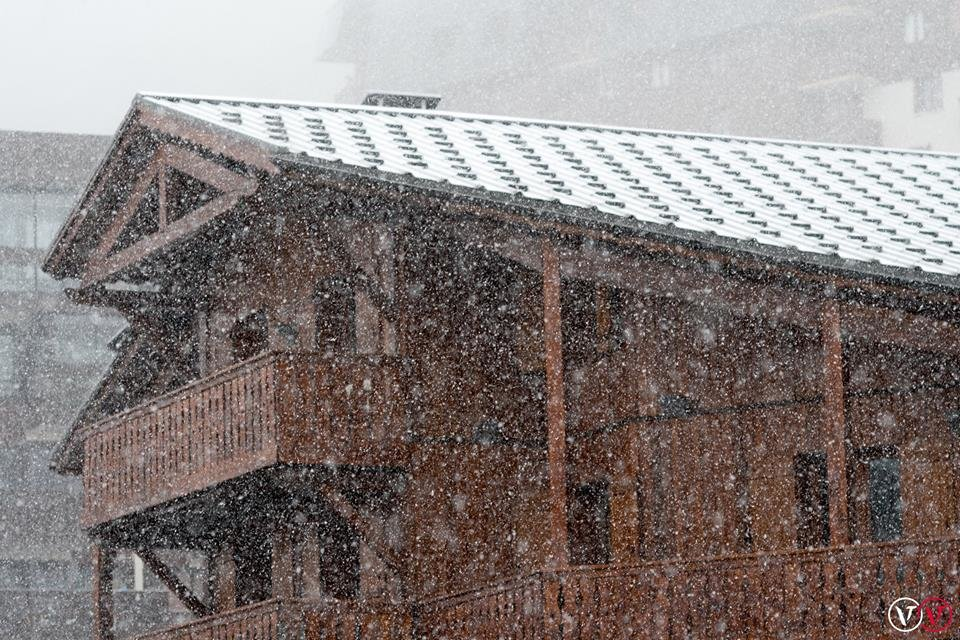 Kräftiger Schneefall in Val Thorens (FRA) - © Val Thorens/Facebook