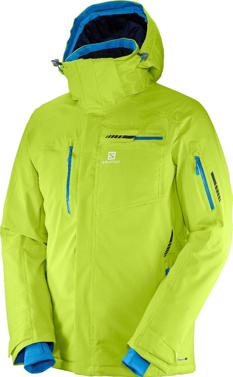 L'incontournable veste Salomon Brilliant est dotée de finitions ultra-robustes, d'une matière stretch 4 directions imperméable, d'une isolation 100g chaude et douillette et de toutes les fonctionnalités requises pour le ski. – 380,00€ - © Salomon