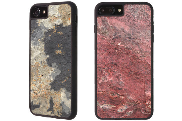WÜD Rock Phone Case: $39 The new RÖK collection protects your phone from the elements with hand-finished stone surrounded by a lightweight polycarbonate case. Each case is unique and comes in seven different stone styles to choose from.