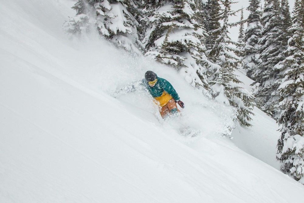 Since when is April this good? Oh yeah, it's Whistler Blackcomb. - © Mitch Winton/Coast Mountain Photography