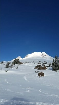 Timberline Lodge - beautiful day 12/4 - © anonymous