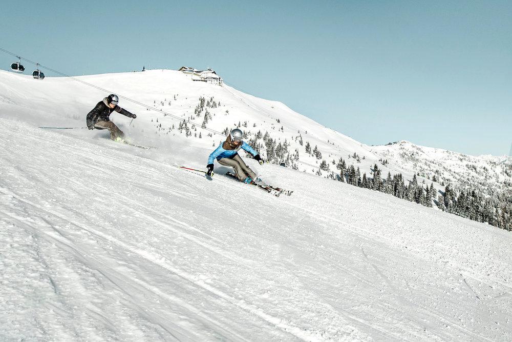 Skifahren mit Schmitten-Gipfel - © Schmittenhöhebahn AG