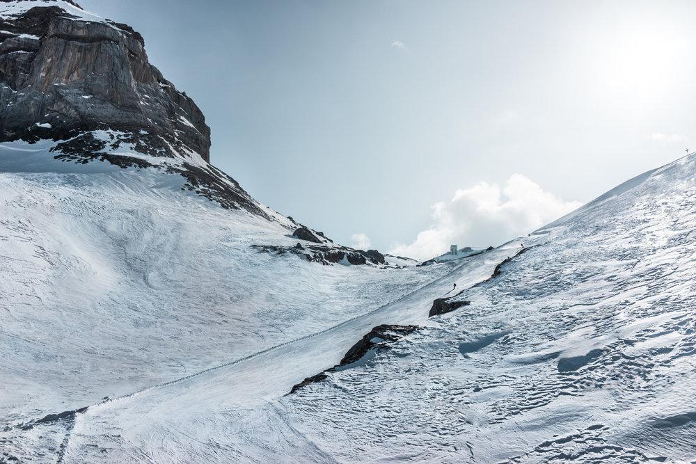 Martisberg bei Reusch im Skigebiet Glacier 3000 - © Glacier 3000