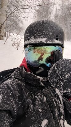 Stowe Mountain Resort - deep pow at stowe... rocking Ripclear goggle lens protectors for sure today - © Ripclear goggle lens pro