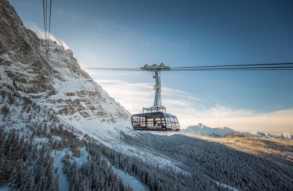 Nová kabínová lanovka na Zugspitze - © Zugspitze | Facebook
