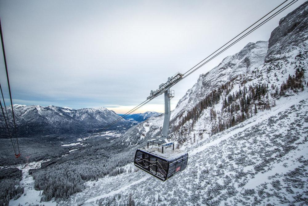 Seilbahn Zugspitze - © © Bayerische Zugspitzbahn Bergbahn AG/Max Prechtel