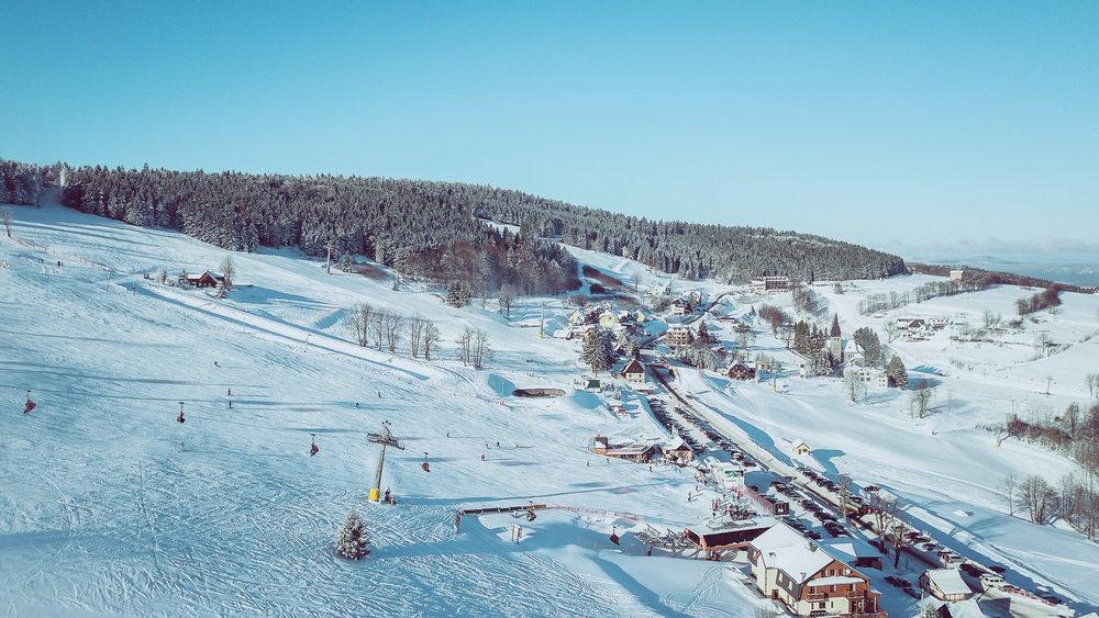 Zieleniec Ski Arena - December 2017 - © Zieleniec Ski Arena