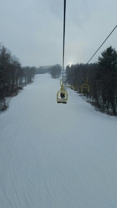 Bousquet Ski Area - No lift lines today and good conditions overall.  