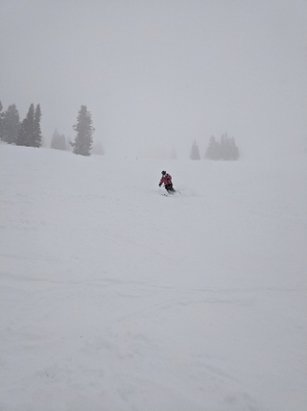 Grand Targhee Resort - new snow at GT today!  - © anonymous