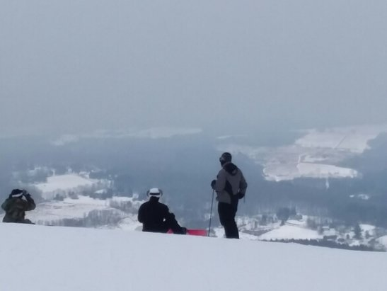 Elk Mountain Ski Resort - Monday 1/8. Fantastic conditions!!! Maybe 100 people on whole mountain!!! - © SkiTony