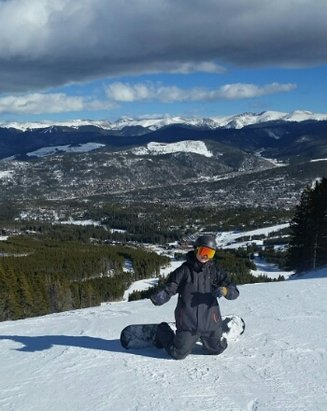 Breckenridge - Sun, sun, and wind late in the day.  Had fun!! - © livetoskik2
