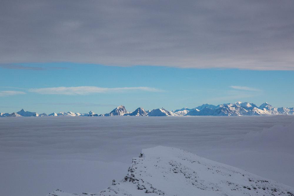 Vom La Siala auf 2810 Meter Höhe ergeben sich fantastische Ausblicke - © Skiinfo
