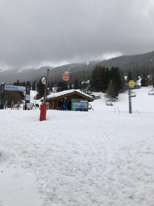 Val Cenis - 15 cm de neige fra - © iPhone de Victor