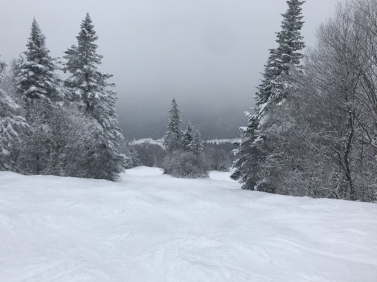 Mont Sainte Anne - Great conditions & no crowds today 