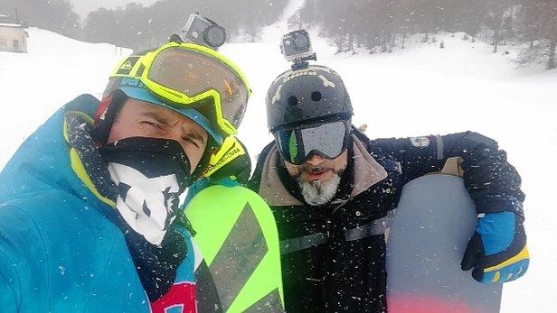 Campo Staffi - neve ottima piste innevate alla perfezione zero sassi... - © pazzi per lo snow
