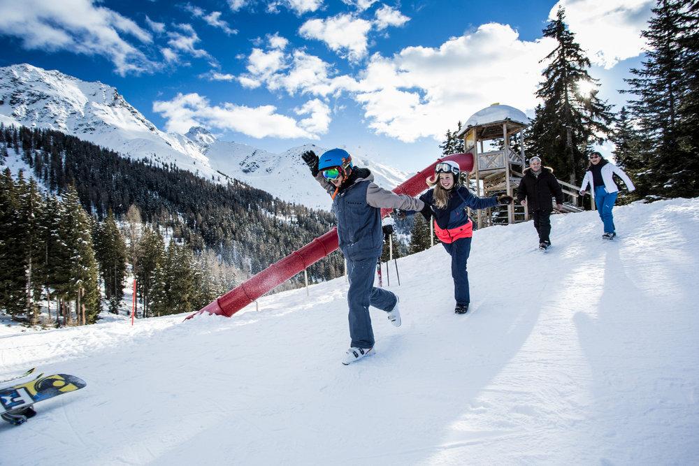 fendels bilder fotos aus dem skigebiet skiinfo. Black Bedroom Furniture Sets. Home Design Ideas