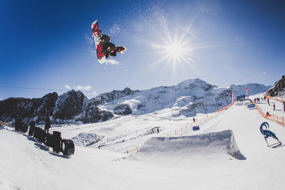 Snowpark Kaunertaler Gletscher - © Kaunertaler Gletscher | Daniel Zangerl