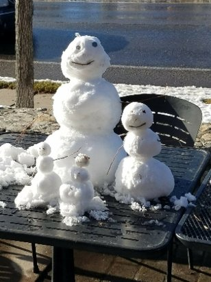 Heavenly Mountain Resort - Snowmen Family Seen Heading North, Temps to Warm...⛄ - © Heysmilinsteve