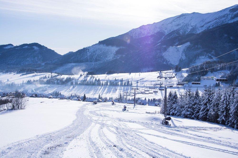 Strachan Ski centrum 30.1.2018 - © Strachan Ski centrum facebook