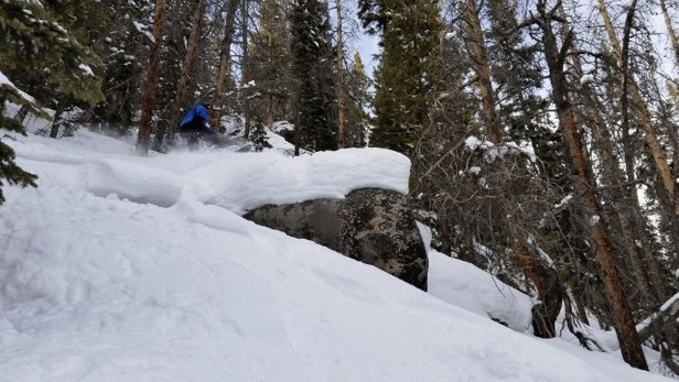 Winter Park Resort - Even found some cliffs to huck! - © anonymous