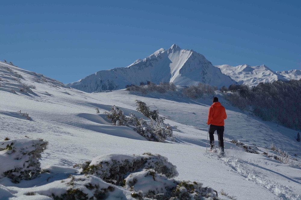 Grands espaces et décors de carte postale dans le Val d'Azun - © Espace nordique du Val d'Azun