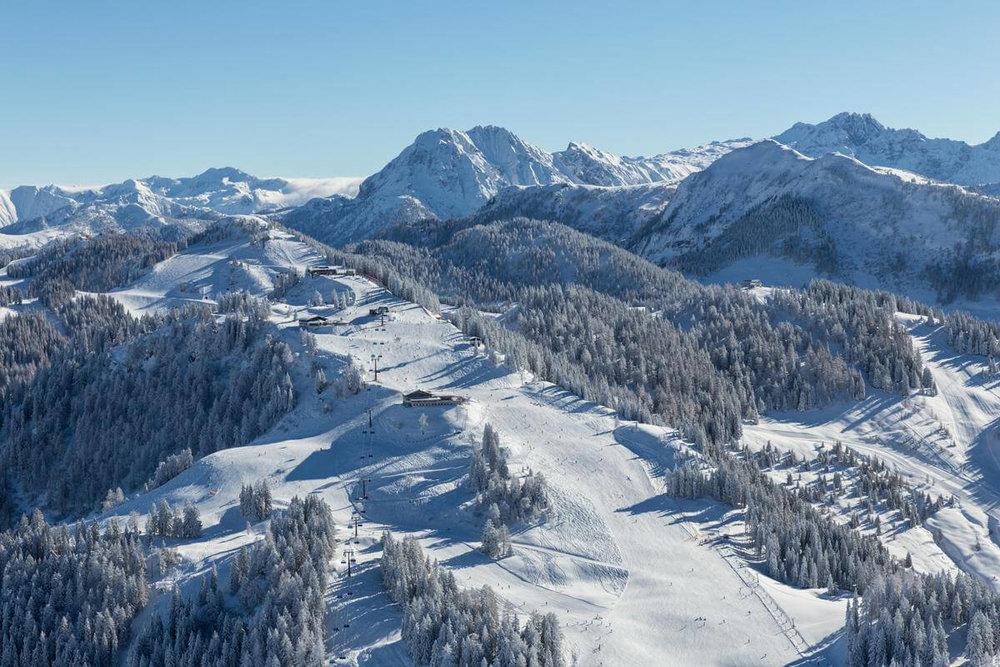 Skigebiet Alpendorf Sankt Johann im Pongau (Snow Space Salzburg) - © Bergbahnen Alpendorf
