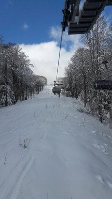 Abetone - Neve perfetta, se la temperatura si mantiene così quest'anno finalmente si può sciare con soddisfazione!Logistica èChe - © Simona