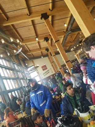 Park City - amazing snow, but A LOT of people!  - © anonymous