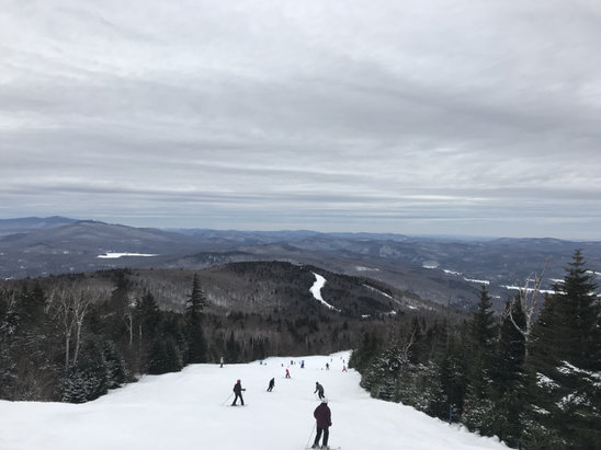 Okemo Mountain Resort - Pretty icy yesterday 