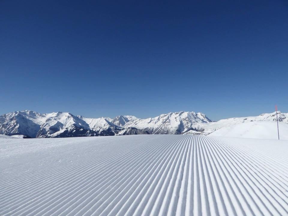 Alpe d'Huez 19.2. - © facebook Alpe d'Huez