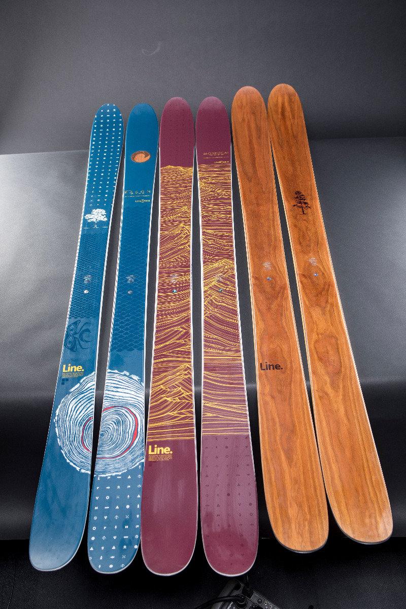 Die Line Signature Serie von Eric Pollard - © LINE Skis
