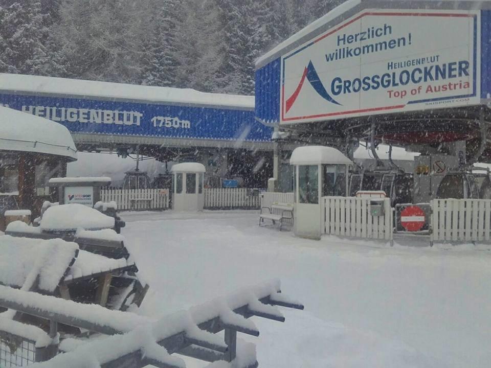 Großglockner Heiligenblut, 04.01.2018 - © Facebook Grossglockner Bergbahnen