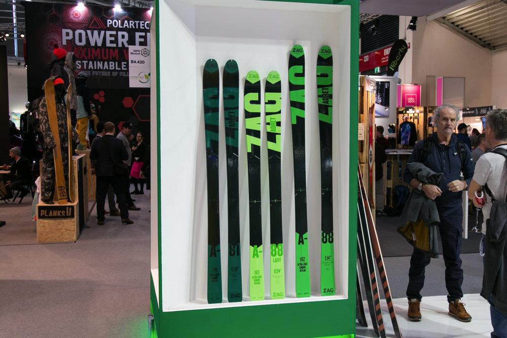 Die Ski von ZAG gelten in Fachkreisen als sehr hochwertig und sind bei ihren Fans sehr beliebt - © Skiinfo | Sebastian Lindemeyer