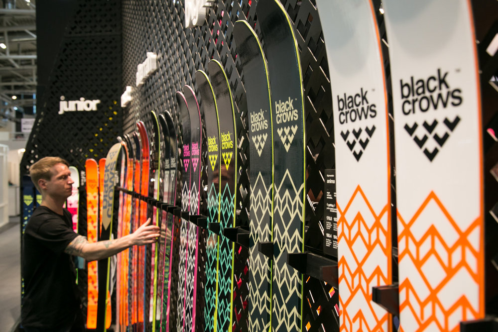 Na stánku Black Crows - ISPO 2018 - © Skiinfo | Sebastian Lindemeyer