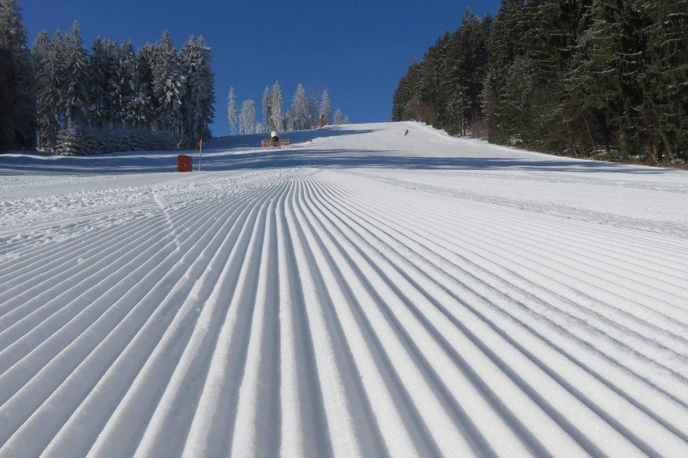 Skiareál Lipno 19.2. - © facebook Skiareál Lipno