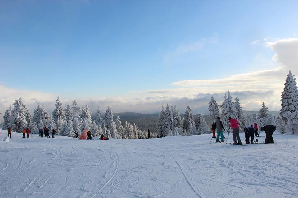 Skiareál Klínovec 28.02. - © facebook | Skiareál Klínovec