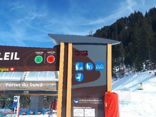 Morzine - Bit Too Warm for Snow! - © Steve