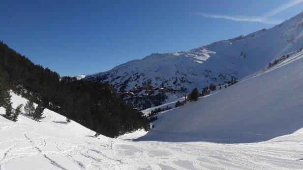 Les Arcs - super neige et enfin une magnifique journ - © jejanne