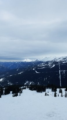 Whistler Blackcomb - getting some light flurries at the top of whistler today. hope it continues! - © Danny from Texas