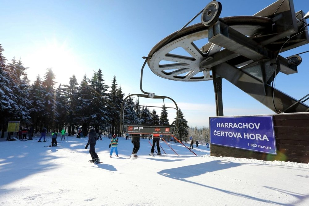 Skiareal Harrachov, CZE: March 28, 2018